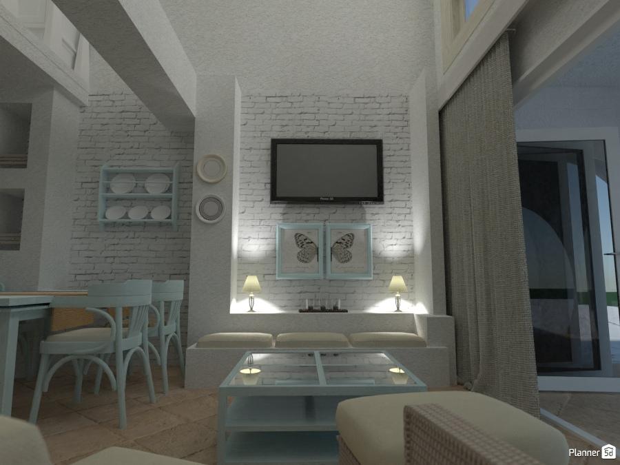 Casa rustica: living house ideas planner 5d