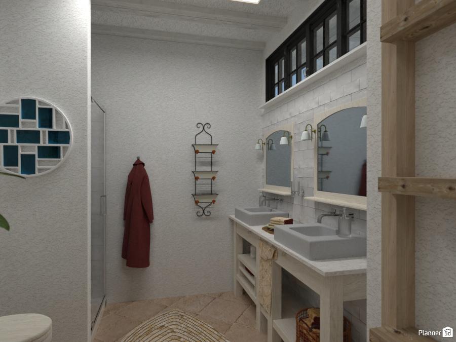 Casa rustica bagno house ideas planner 5d - Planner bagno 3d ...