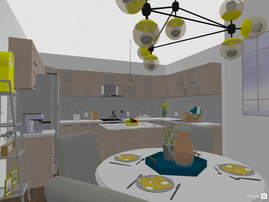 Spring Yellow Kitchen 80623 by Velazquez image