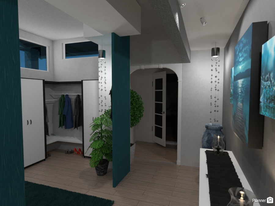 Foto Casa Arredamento Decorazioni Fai Da Te Illuminazione Rinnovo  Architettura Vestibolo Idee