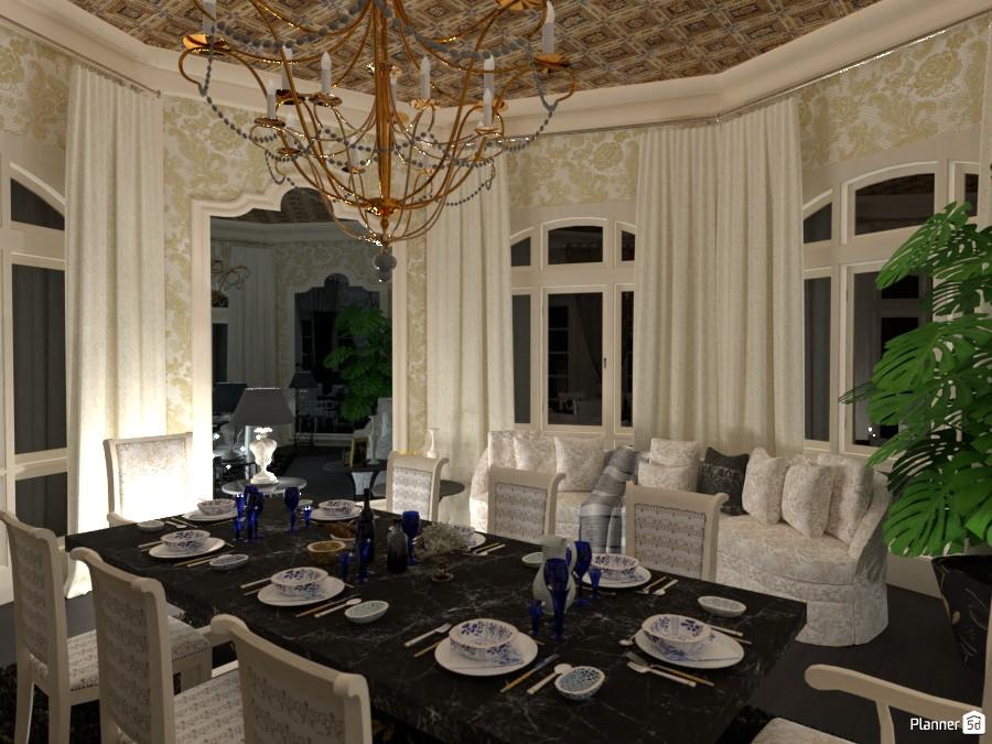 Awesome Dining Room 3849661 by Huzaifah Al-Quraishi image