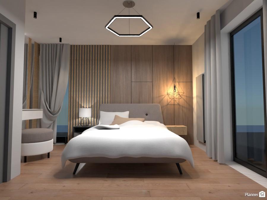 Minimalist bedroom 3541615 by Kirill Vlasenkov image