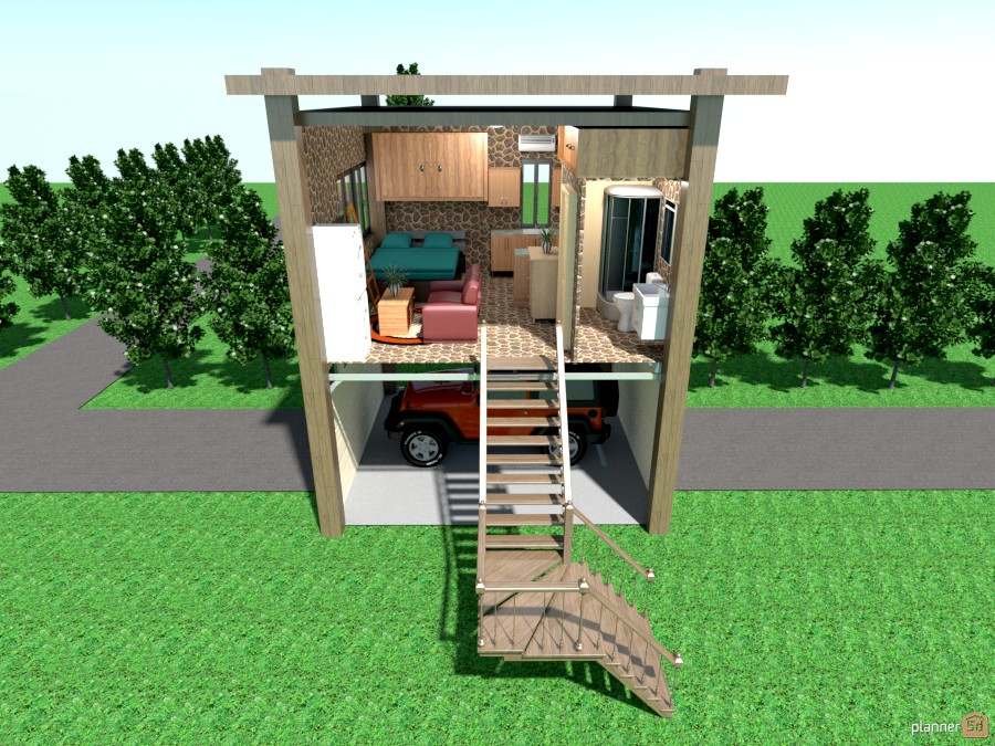 269 sq ft tiny house on stiltes 900942 by Joy Suiter image