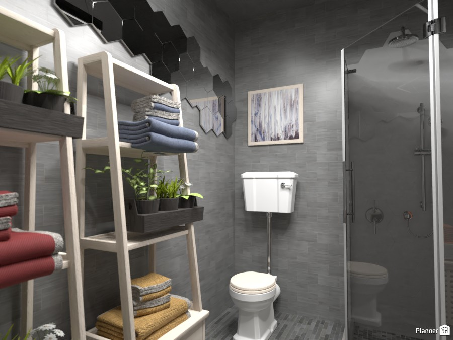 Apartment, bathroom, Render 1 3616497 by Designer (doggy) image