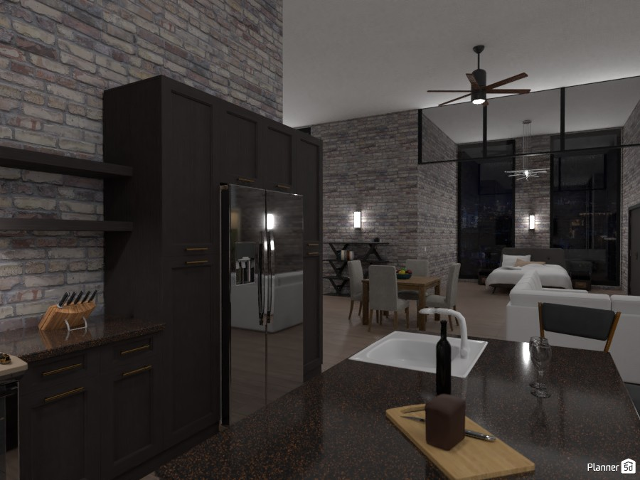 Industrial studio apartment 3974690 by EMG Builds image