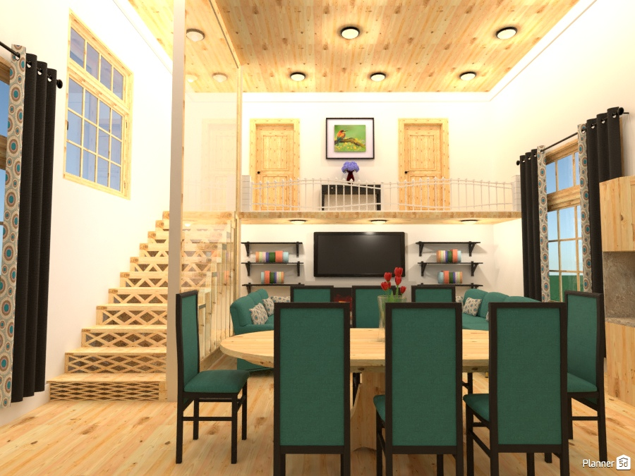 fully furnished townhouse - House ideas - Planner 5D