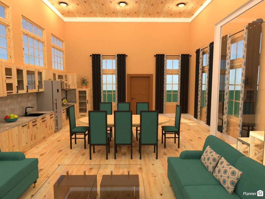 fully furnished townhouse rental - House ideas - Planner 5D