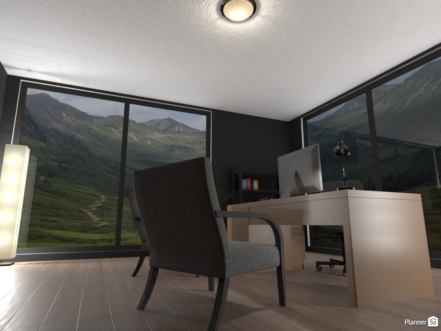 Minimal office design 3887042 by EMG Builds image