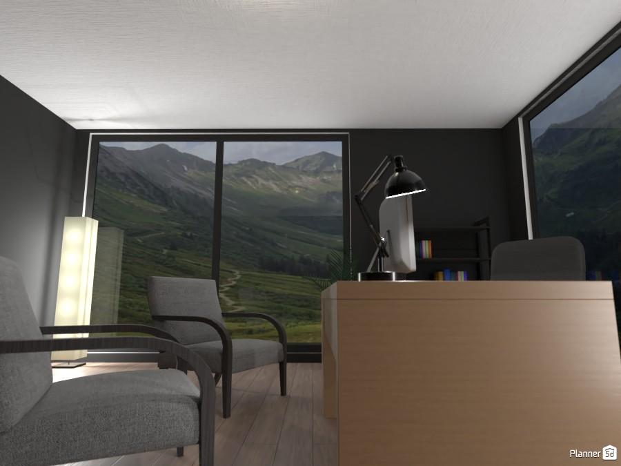 Minimal office design 3887049 by EMG Builds image