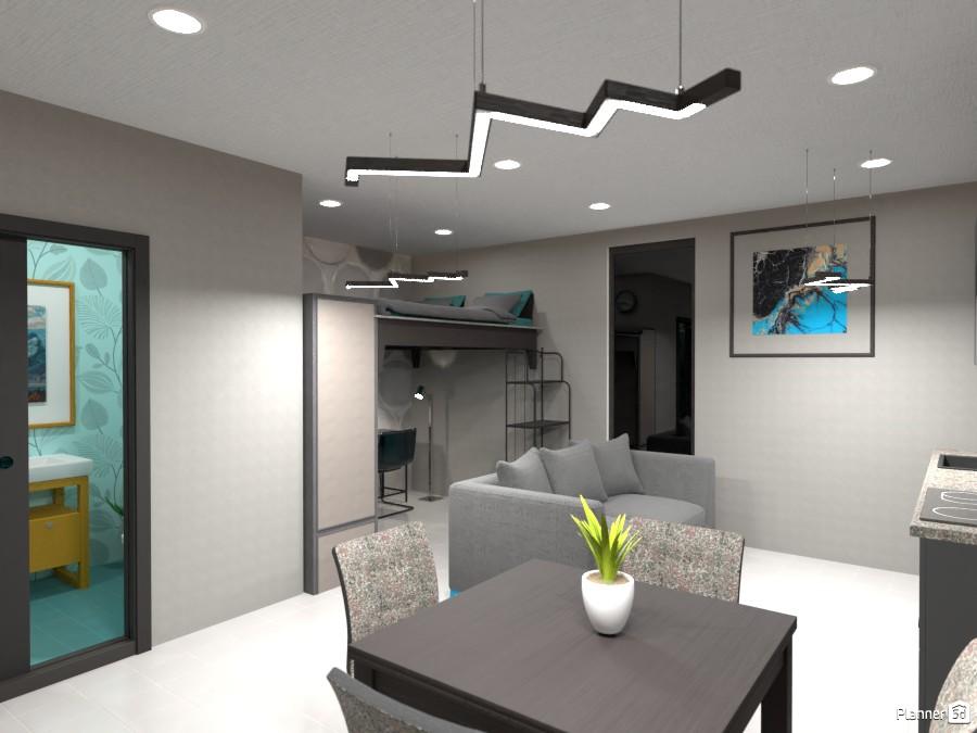 Small studio interior 3947066 by Art lover image