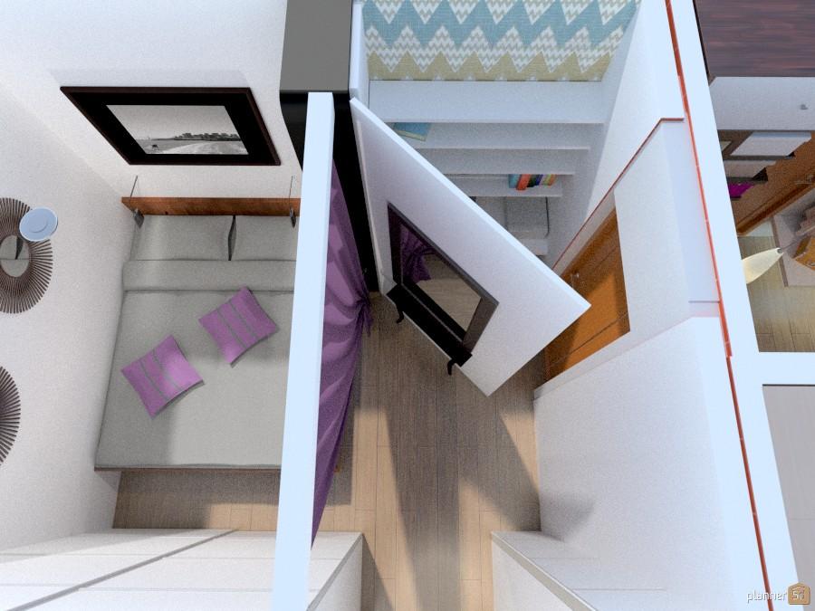 Спальня с рабочим местом 986180 by Татьяна Максимова image