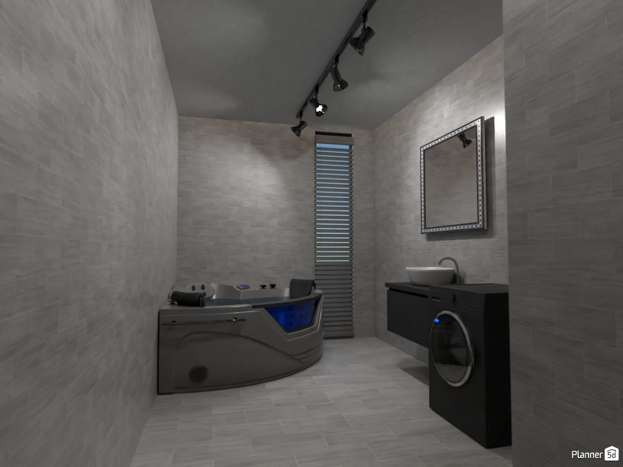 Grey bathroom 3768756 by Rita Oláhné Szabó image