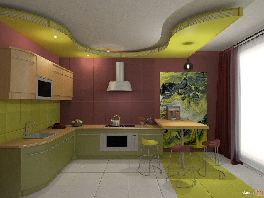 modern kitchen 574209 by Katerina Sokorenko image
