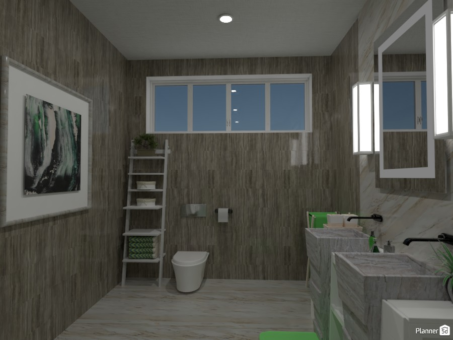 Green bathroom render 3 4056088 by Doggy image