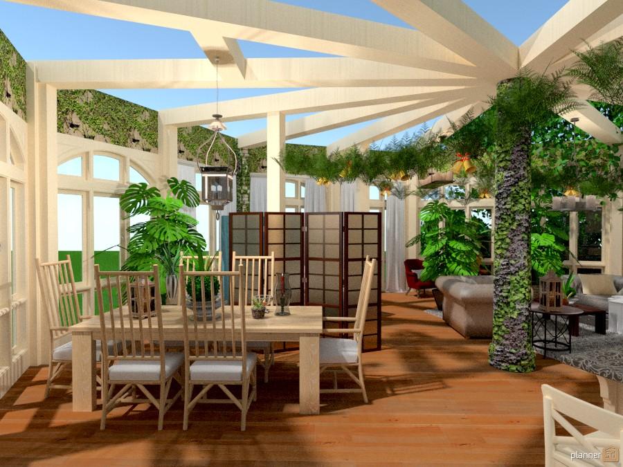 Free foto veranda arredamento decorazioni sala da pranzo for Arredare giardino d inverno