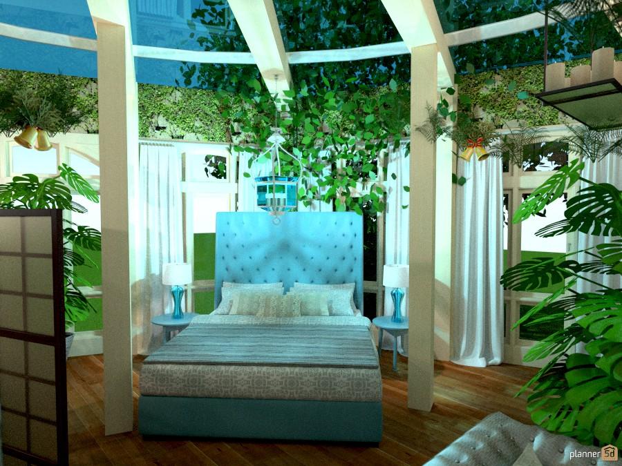 giardino d' inverno: l'angolo dei sogni - terrace ideas - planner 5d - Planner Camera Da Letto