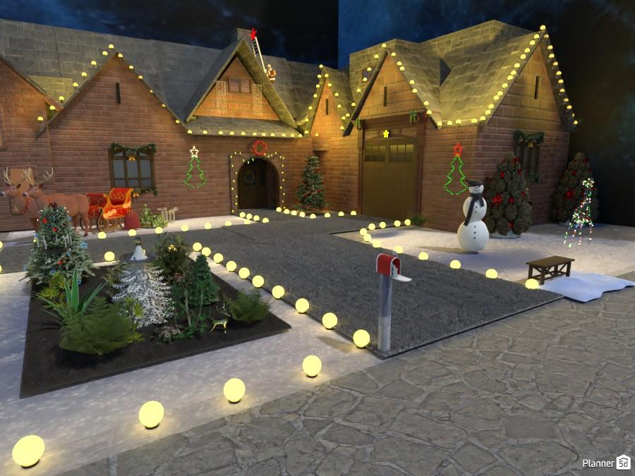 house Christmas 83681 by mersomiju image