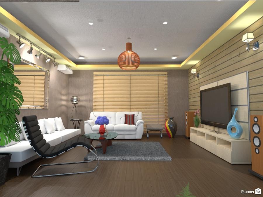 Family living living room ideas planner 5d for Room design 5d