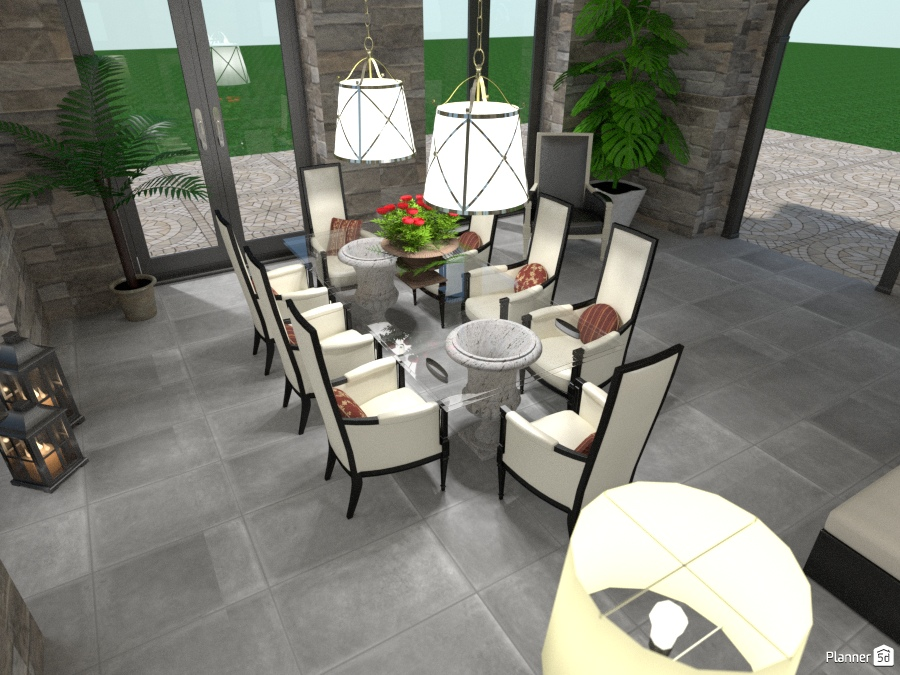 Renovation of a barn: Dining 1811430 by Moonface image