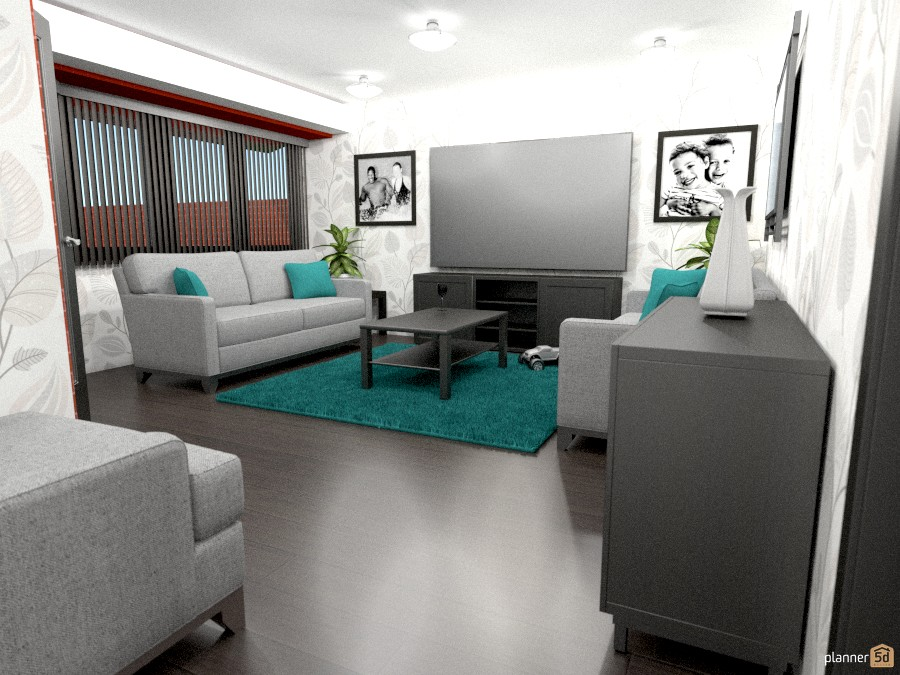Turtu bay living room house ideas planner 5d for Room design 5d
