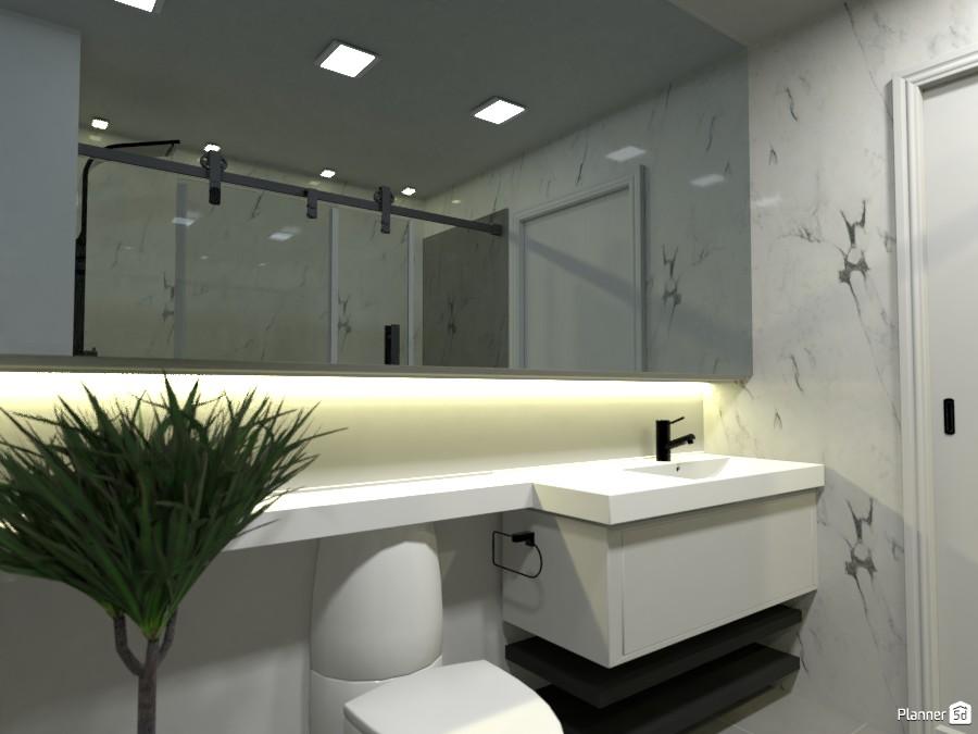 banheiro apartamento terreo 3746767 by Rayslla Andrade image