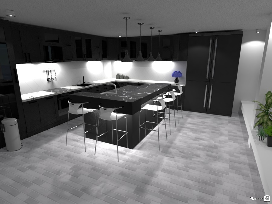 Grey-tone Kitchen 3035809 by ESK image