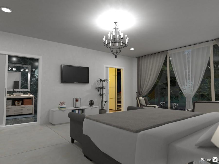 Master bedroom with wardrobe 3625736 by Megan image