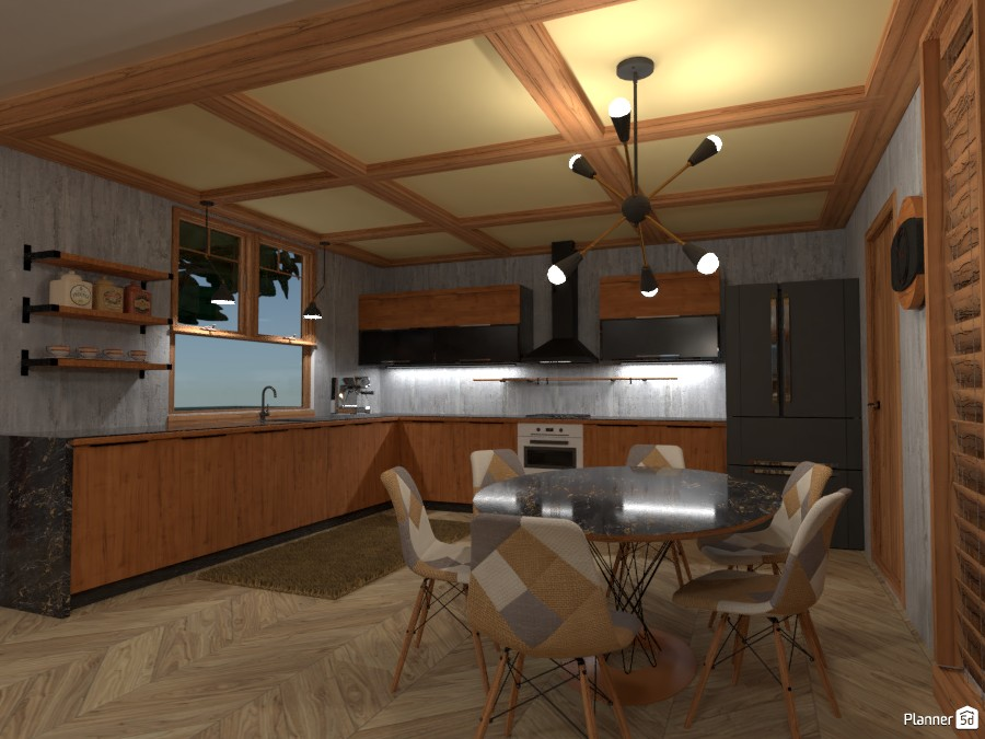 Shelter House: Kitchen 4206116 by Fede Lars image