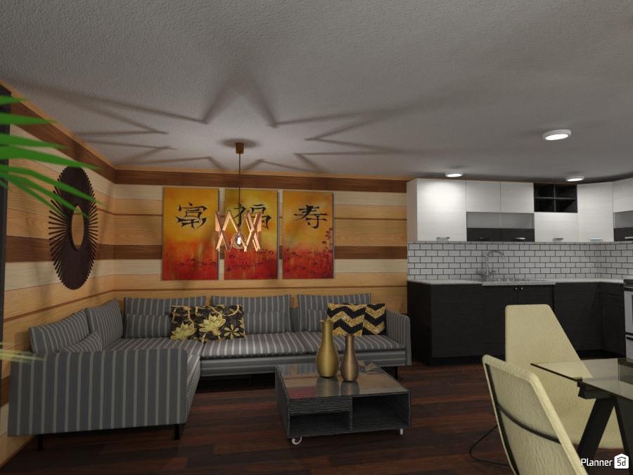 Living cucina living room ideas planner 5d for Room design 5d