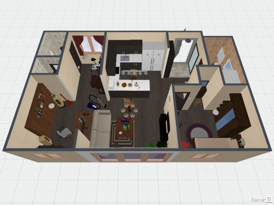 An Efficiency Apartment 73270 by Kim image