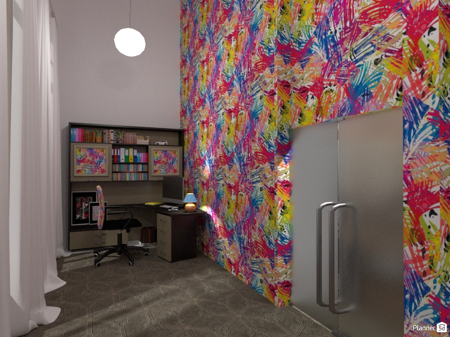 Apartment in Amsterdam: Study Corner 1301396 by Micaela Maccaferri image