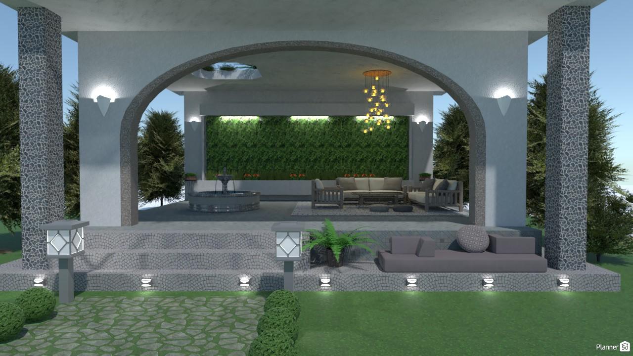 Terrace 3619452 by Zhaobin image