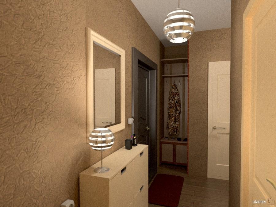 2-х комнатная квартира - Apartment ideas - Planner 5D
