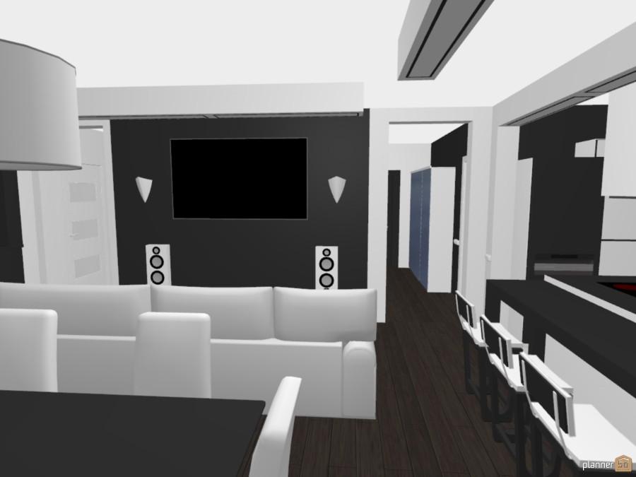 black and white interior apartment 62556 by Alex Monarch image