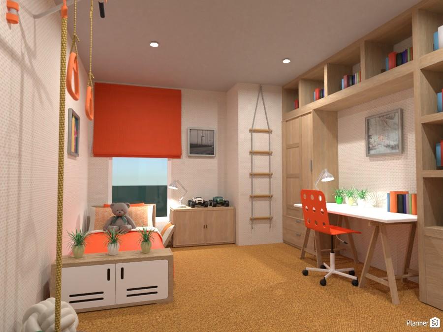 Boy's bedroom 4040228 by Rita Oláhné Szabó image