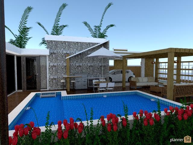 Brazilian modern residence 60715 by Michelle Silva image