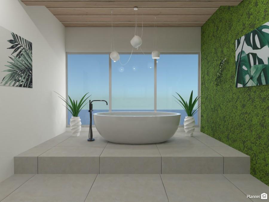 eco house bathroom 4155879 by zahava image