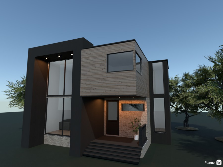 modern house 3691363 by rilly image