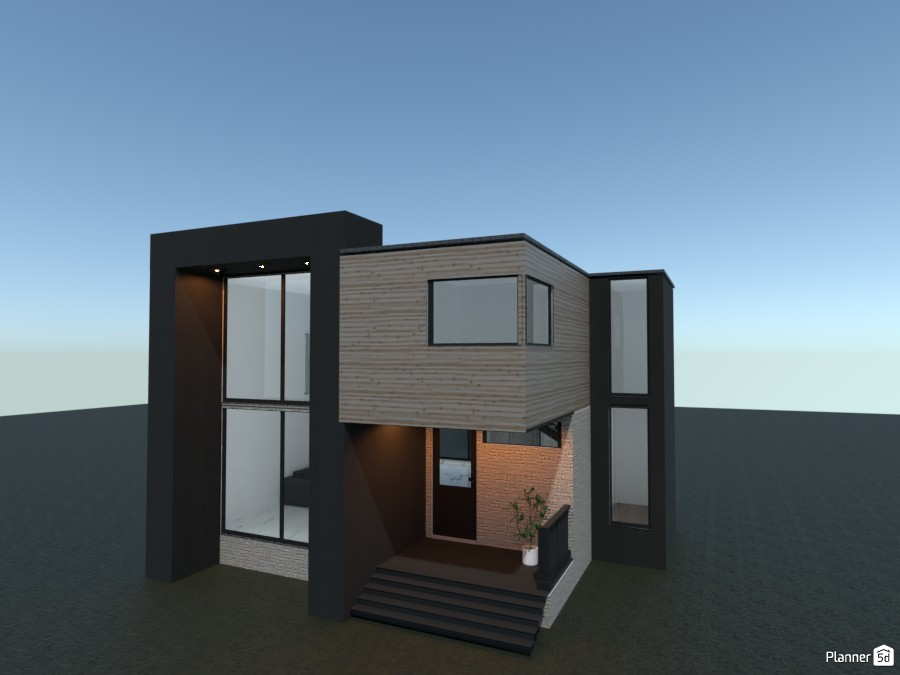 Modern house 82948 by rilly image