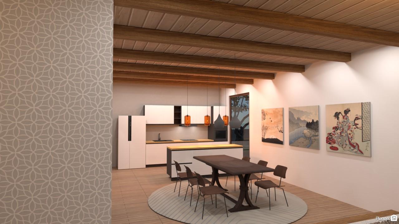 Modern Japanese style kitchen 3976275 by Secondsim image