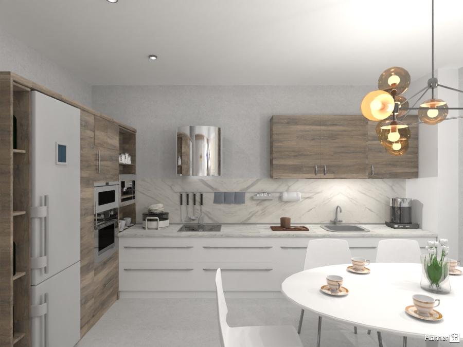 Design Kitchen Ideas Para Apartamentos Planner 5d