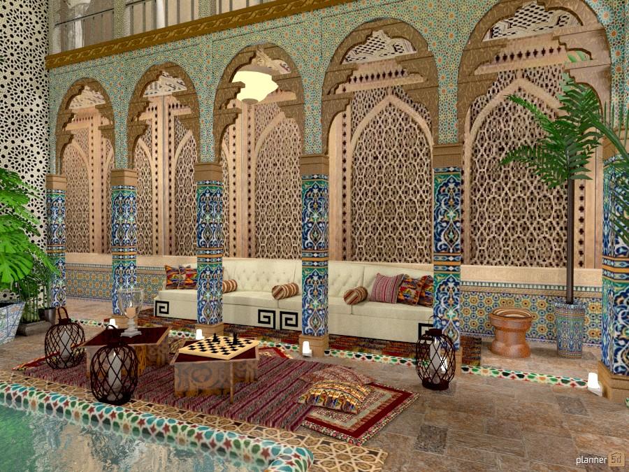 Villa a Marrakech 1017124 by Svetlana Baitchourina image