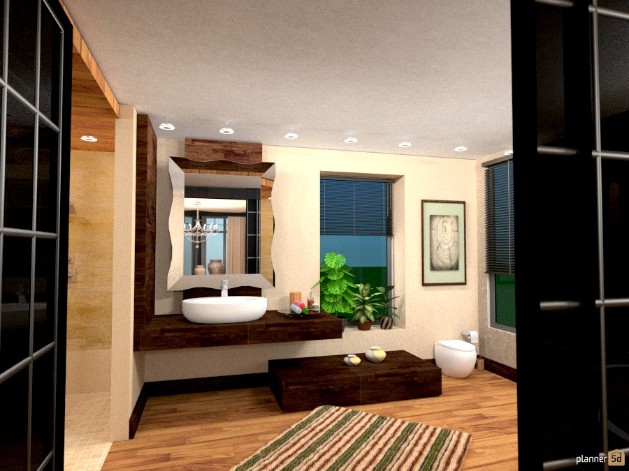 Airy bathroom 889226 by Moonface image