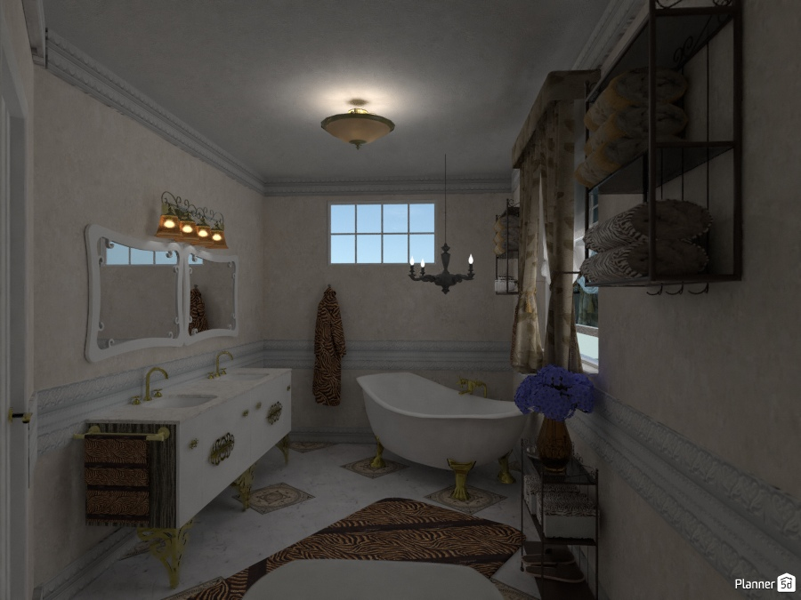 Progetto simona bagno principale furniture ideas - Planner bagno 3d ...