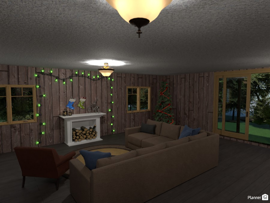 Cabin 01 (Christmas) 3631666 by blake image
