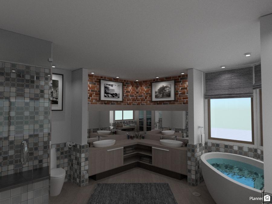 Guest bathroom apartment ideas planner 5d for Bathroom design 5d