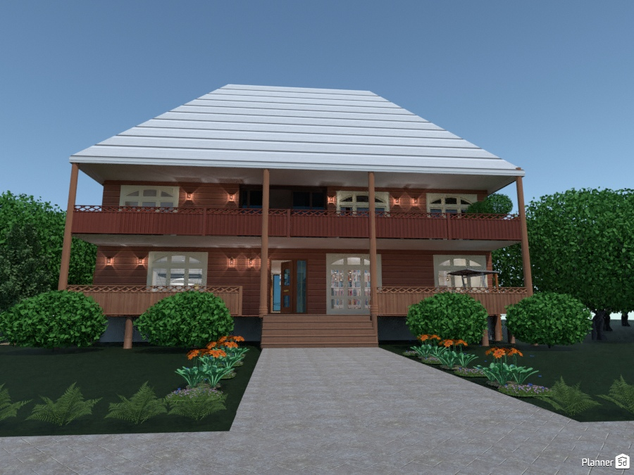 a two story wooden house 2419146 by ענבר רביץ image