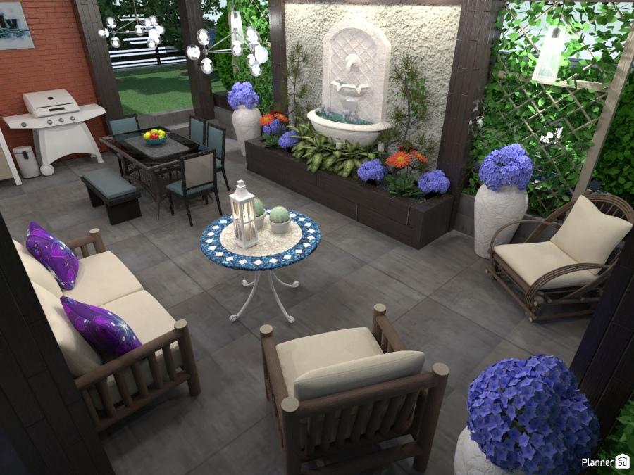Outdoor Entertainment Ideas Para Casas Planner 5d