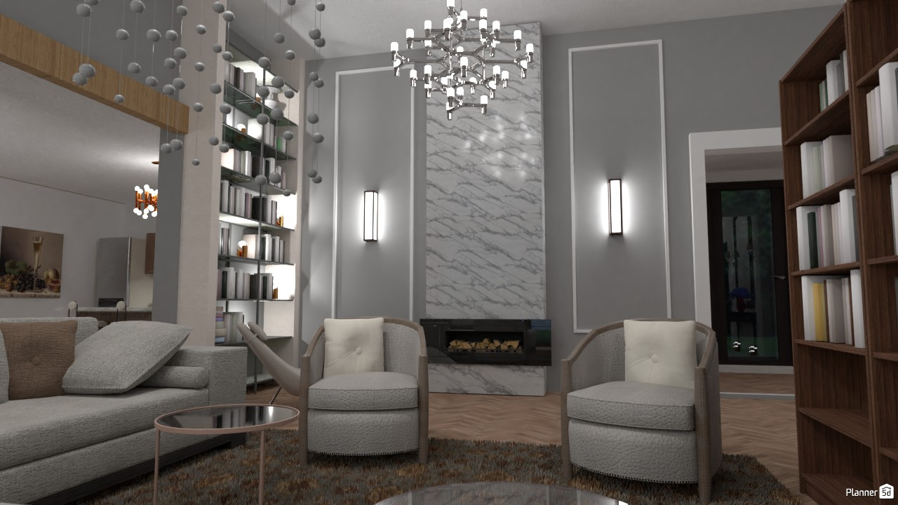Modern living-room 4022618 by Secondsim image