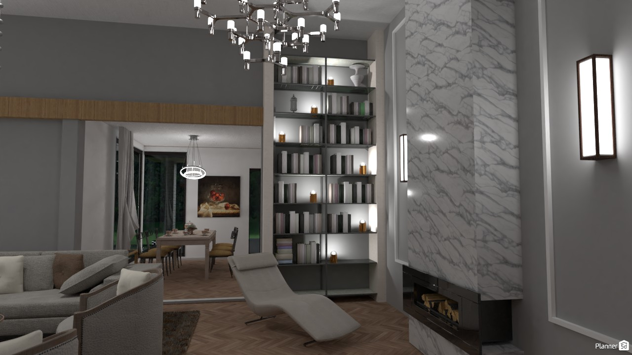 Modern house living room 4022641 by Secondsim image